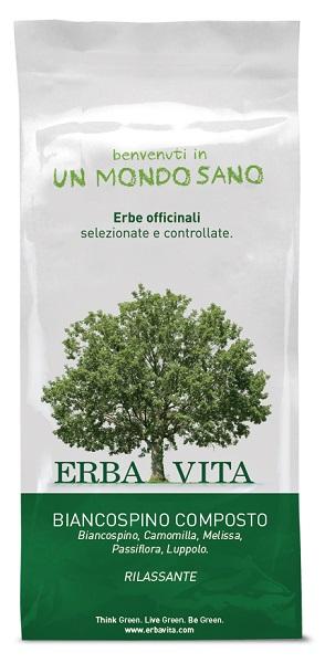 BIANCOSPINO COMPOSTO TISANA 100 G - Farmacia Centrale Dr. Monteleone Adriano