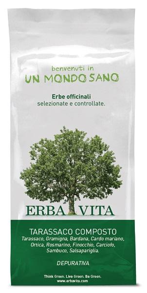 TARASSACO COMPOSTO TISANE 100 G - Farmacia Centrale Dr. Monteleone Adriano