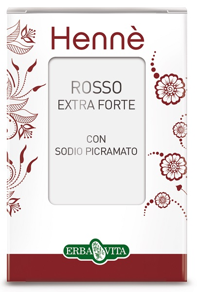 HENNE COLORANTE CAPELLI ROSSO NATURALE EXTRA FORTE - Farmacia 33