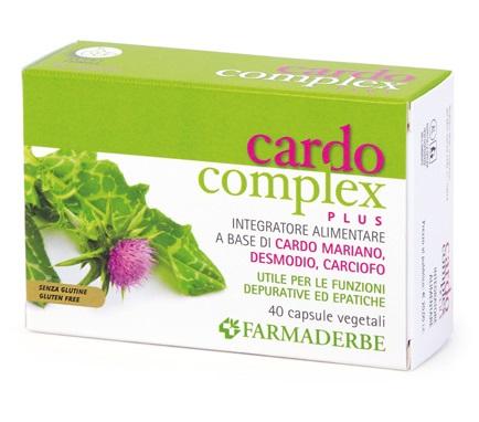 CARDO COMPLEX PLUS 40 CAPSULE - Farmabros.it