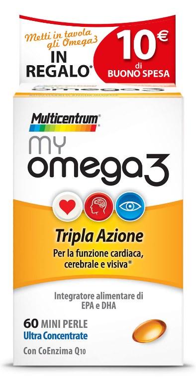MULTICENTRUM MY OMEGA3 60 MINI PERLE PROMO - Farmastop