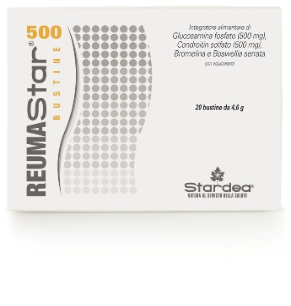 REUMASTAR 500 20 BUSTINE 4,6 G - FARMAEMPORIO