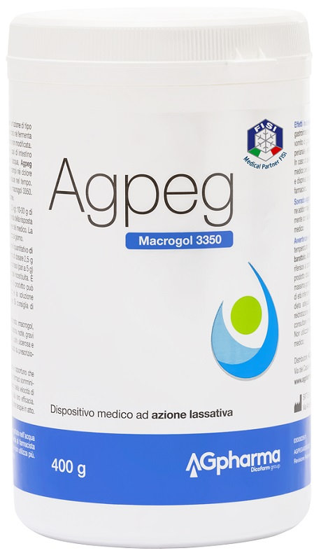 Agpeg Magrocol 3350 Integratore Lassativo Polvere 400 g