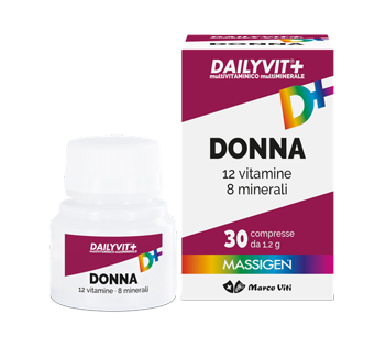 MASS DAILYVIT DONNA 30 COMPRESSE - Farmafamily.it