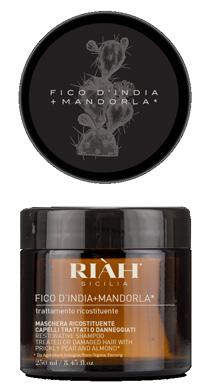 RIAH MASCHERA FICO D'INDIA E MANDORLA RICOSTITUENTE 250 ML - Nowfarma.it