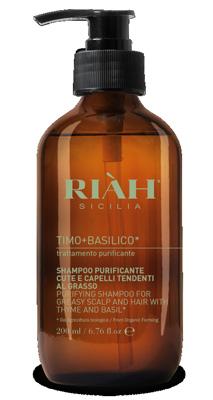 RIAH TIMO BASILICO SHAMPOO PURIFICANTE CAPELLI GRASSI 200 ML - Nowfarma.it