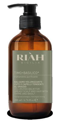 RIAH TIMO BASILICO BALSAMO VOLUMIZZANTE 200 ML - Nowfarma.it
