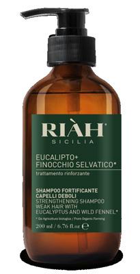 RIAH EUCALIPTO E FINOCCHIO SHAMPOO FORTIFICANTE CAPELLI DEBOLI 200 ML - farmaventura.it