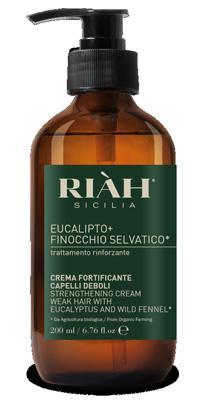 RIAH EUCALIPTO FINOCCHIO CREMA FORTIFICANTE 200 ML - Nowfarma.it