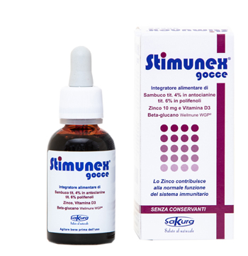 STIMUNEX GOCCE 30 ML - Farmapage.it
