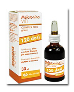 MELATONINA VITI COMPLEX PLUS GOCCE 30 ML - Farmafamily.it
