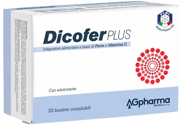 DICOFER PLUS 20 BUSTINE - Farmalke.it