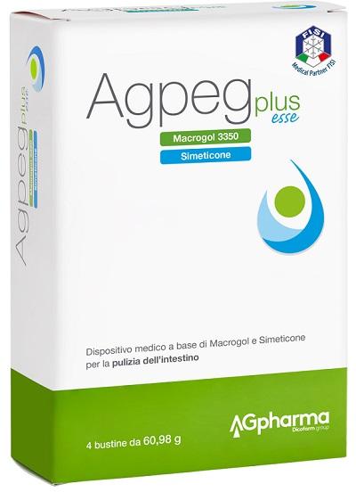 AGPEG PLUS ESSE 4 BUSTE OROSOLUBILI DA 60,98 G - Farmia.it