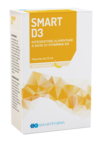 SMART D3 GOCCE 15 ML GUSTO BANANA - Zfarmacia