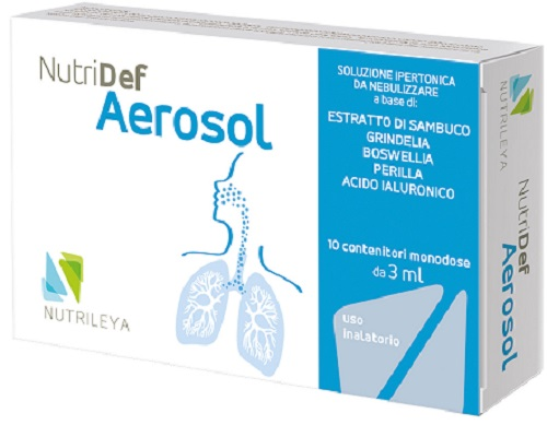 NUTRIDEF AEROSOL 10 FIALE 3 ML - Farmapage.it