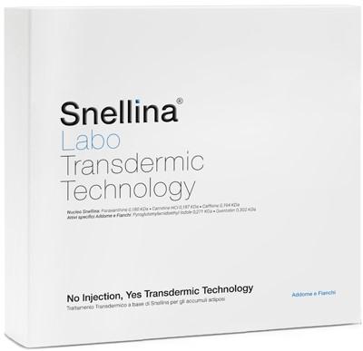 SNELLINA TRANSDERMIC TECNOLOGY ATTACCO ADDOME FIANCHI FLACONE 120 ML + TUBO 150 ML - farmaciadeglispeziali.it