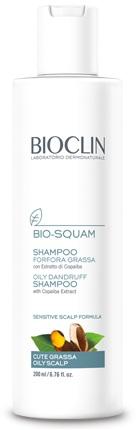 BIOCLIN BIO SQUAM SHAMPOO FORFORA GRASSA 200 ML - Farmacia della salute 360