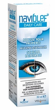 NAVIBLEF DAILY CARE SCHIUMA PALPEBRALE 50 ML - Farmastar.it