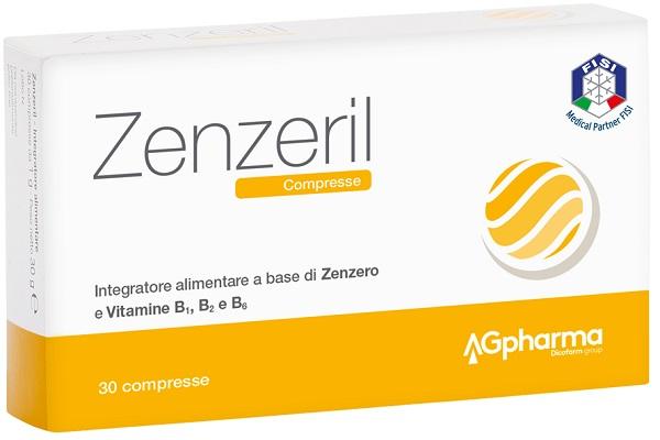 ZENZERIL 30 COMPRESSE - Farmafamily.it