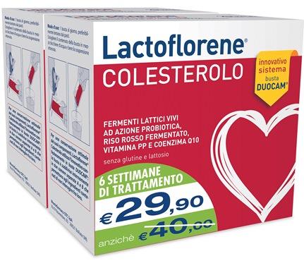 LACTOFLORENE COLESTEROLO INTEGRATORE ALIMENTARE BIPACK 40 BUSTINE - Farmastar.it