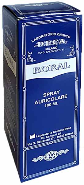 BORAL SPRAY AURICOLARE 100 ML - Farmawing