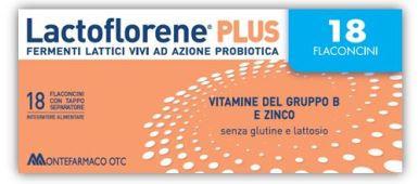LACTOFLORENE PLUS FERMENTI LATTICI 18 FLACONI 180 ML - Nowfarma.it