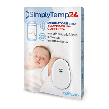 SIMPLYTEMP24 TERMOMETRO BLUETOOTH - La farmacia digitale