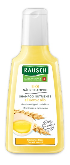 RAUSCH SHAMPOO NUTRIENTE ALL'UOVO E OLIO 200 ML - Farmaci.me