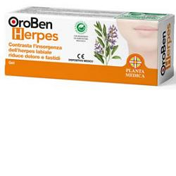 OROBEN HERPES BIOGEL 8 ML - La farmacia digitale