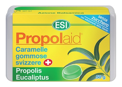ESI PROPOLAID CARAMELLE EUCALIPTO + PROPOLI 50 G - Farmacia Castel del Monte