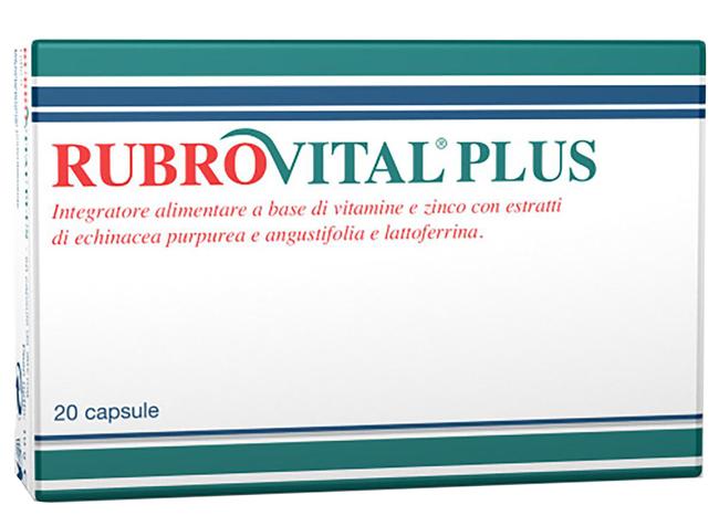 RUBROVITAL PLUS 20 CAPSULE - Farmacielo