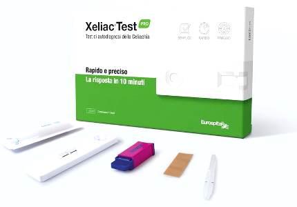 XELIAC TEST PRO DETERMINAZIONE ANTICORPI IGA E IGG ASSOCIATI ALLA MALATTIA CELIACA 1 PEZZO - Farmalke.it