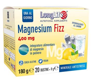 LONGLIFE MAGNESIUM FIZZ 20 BUSTINE - Farmapage.it
