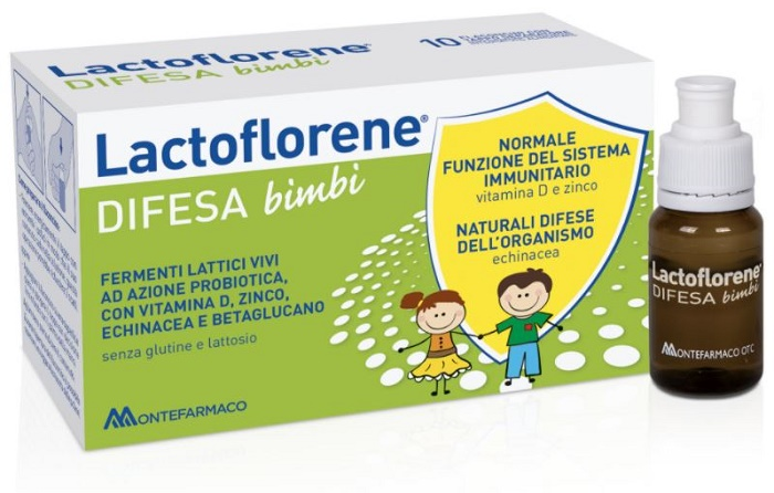 LACTOFLORENE DIFESA BAMBINI 10 FLACONI 100 ML - Farmafamily.it