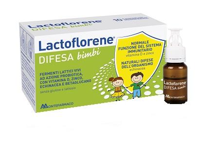 Lactoflorene Difesa Bimbi 10 Flaconcini da 100 ml - latuafarmaciaonline.it