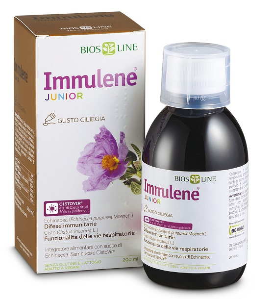 BIOSLINE IMMULENE JUNIOR 200 ML - Farmafirst.it