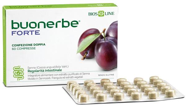BIOSLINE BUONERBE REGOLA FORTE 60 TAVOLETTE - La farmacia digitale