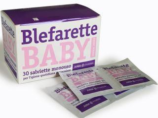 BLEFARETTE BABY SALVIETTINE OCULARI MEDICATE MONOUSO 30 PEZZI - Farmastar.it