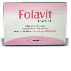 Folavit Integratore Multivitaminico 30 Compresse 18 g