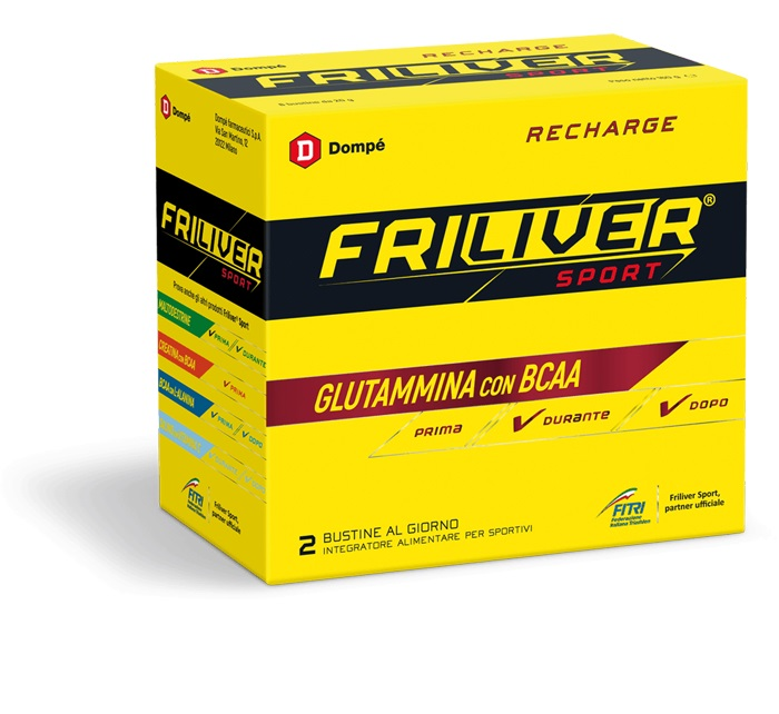 FRILIVER SPORT RECHARGE 8 BUSTINE 160 G - Farmastar.it