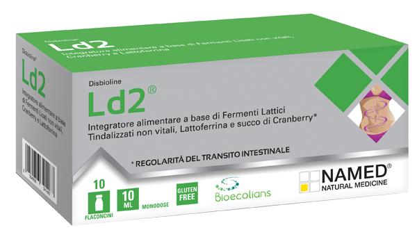 DISBIOLINE LD2 10 FLACONCINI MONODOSE DA 10 ML - Farmabellezza.it