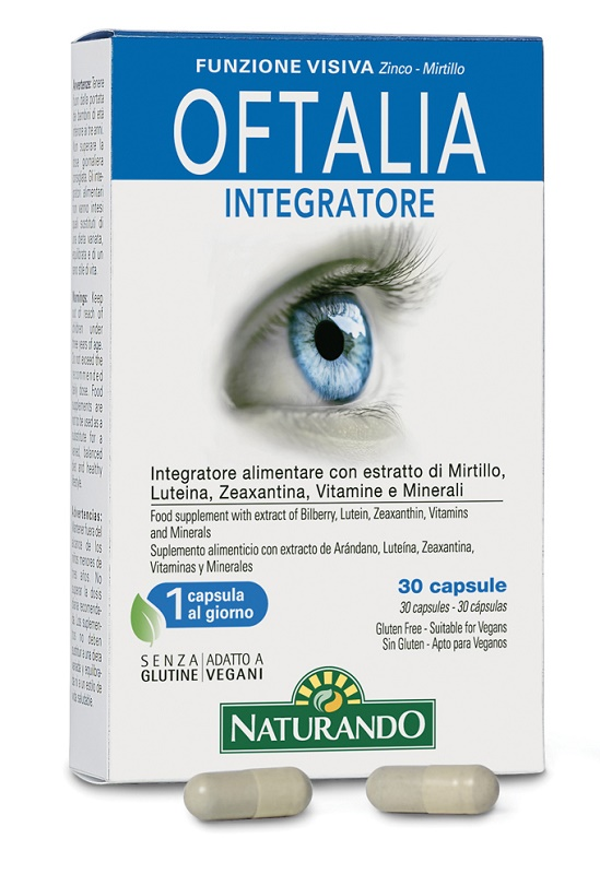 OFTALIA INTEGRATORE 30 CAPSULE - Farmacia Centrale Dr. Monteleone Adriano