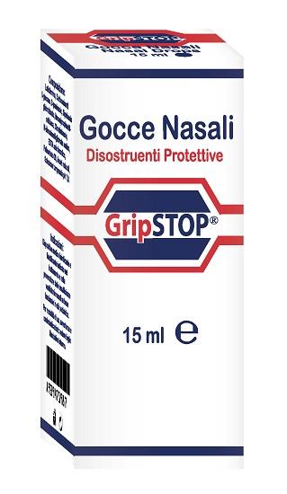 GOCCE NASALI GRIP STOP 15 ML - Farmaseller