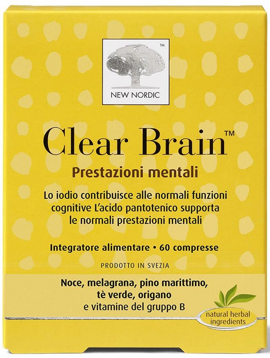 CLEAR BRAIN 60 COMPRESSE - farmaciadeglispeziali.it