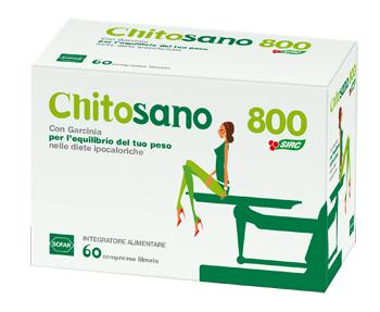 CHITOSANO 800 CM 60 COMPRESSE - Farmaseller