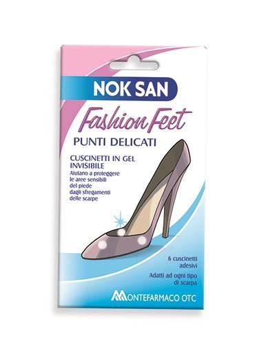 NOK SAN FASHION FEET PUNTI DELICATI 6 PEZZI - Farmacia 33