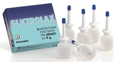 GLICEROLAX ADULTI MICROCLISMI EVACUANTI 6 PEZZI X 9 G CONTIENE AMIDO DI RISO - Farmaciacarpediem.it