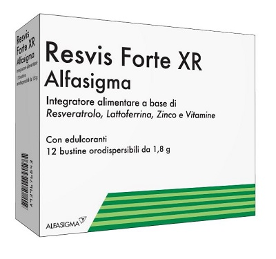 RESVIS FORTE XR BIOFUTURA 12 BUSTE - Farmawing