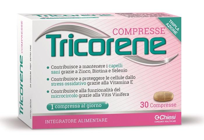TRICORENE 30 COMPRESSE - Farmacia Bartoli
