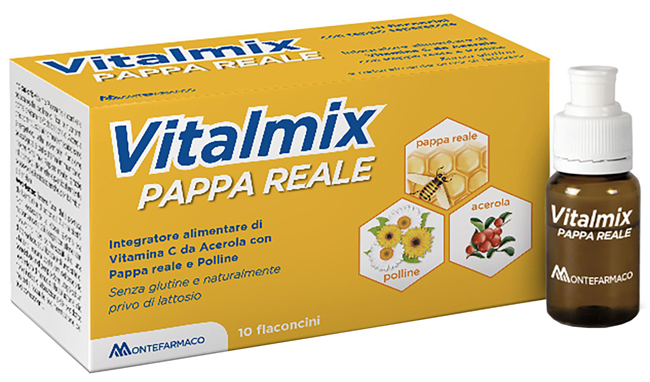 VITALMIX PAPPA REALE 10FLACONCINI X10 ML S/GL - Farmafamily.it